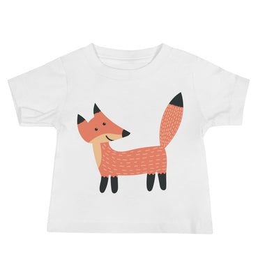 Smiling Fox Baby Jersey Short Sleeve Tee