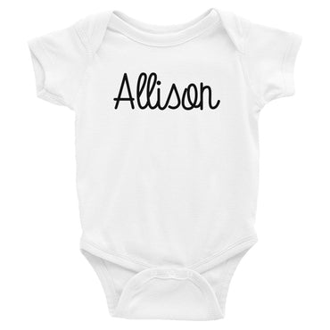 Allison Infant Baby Onesie Bodysuit