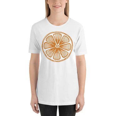 Orange Short-Sleeve Unisex T-Shirt