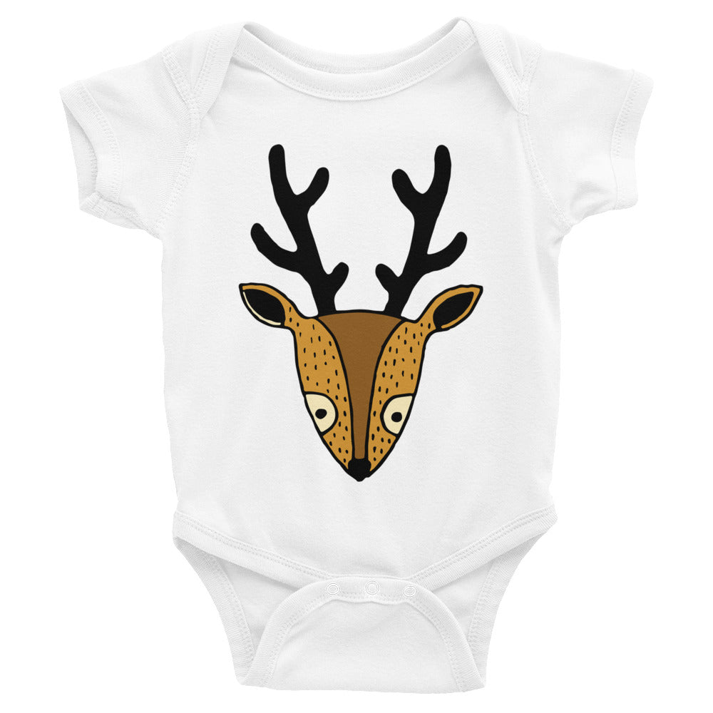 Serene Deer Infant Onesie Bodysuit