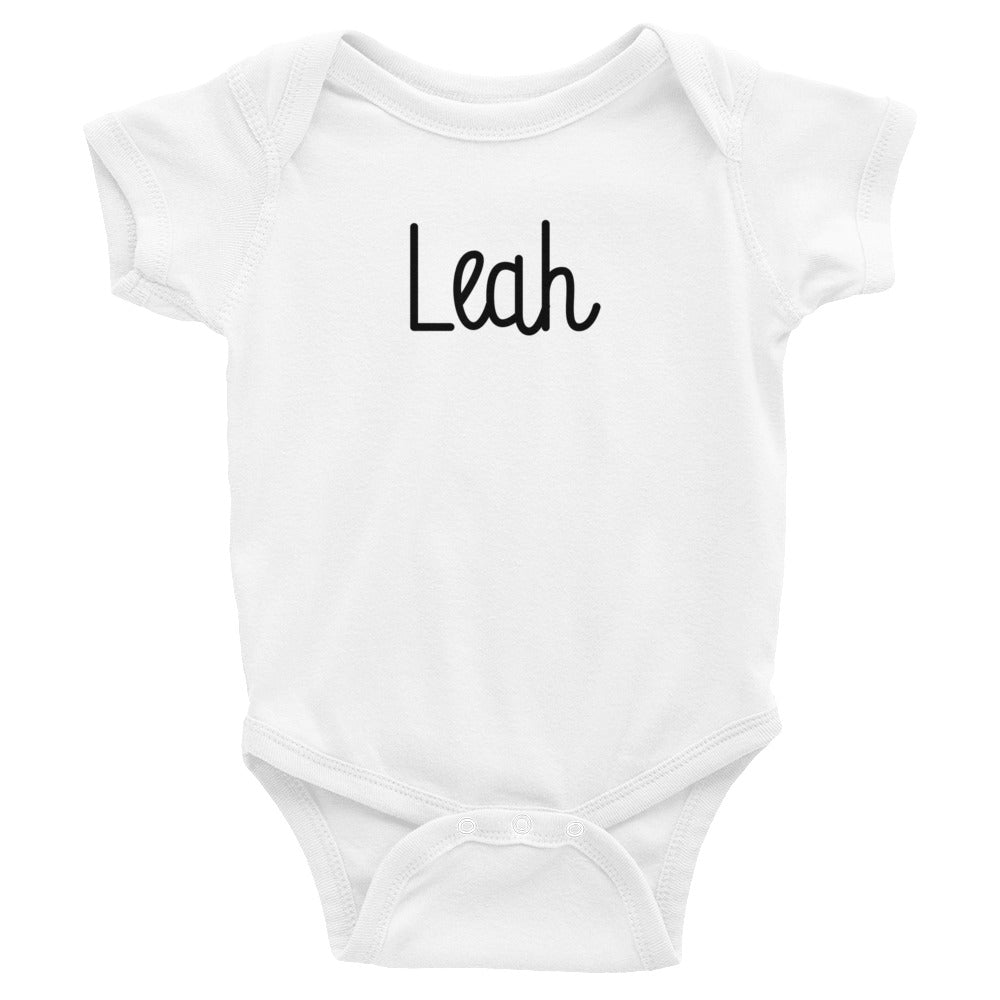 Leah Infant Baby Onesie Bodysuit
