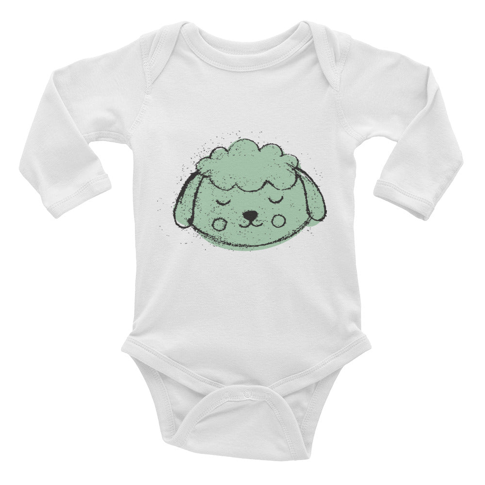 Sheep Infant Long Sleeve Bodysuit