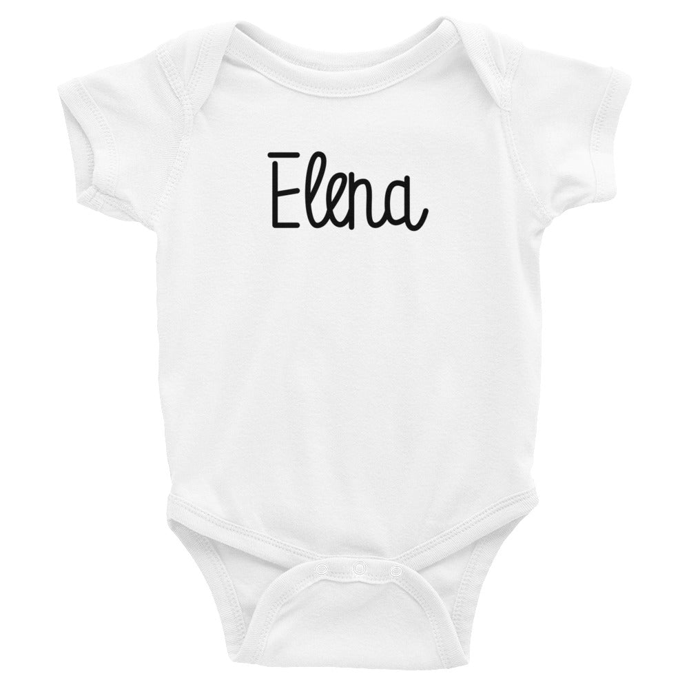 Elena Infant Baby Onesie Bodysuit