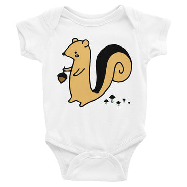 Squirrel Infant Onesie Bodysuit