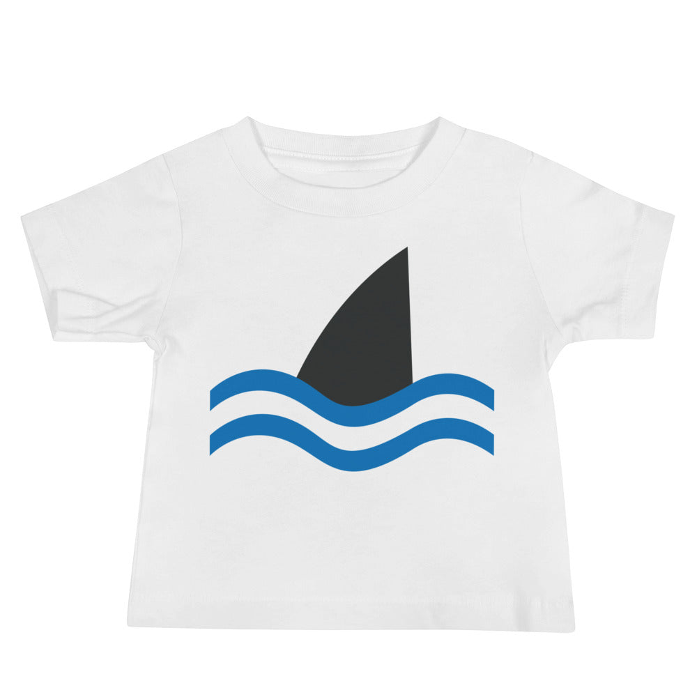 """Don't Go In the Water"" Baby Jersey Short Sleeve Tee"