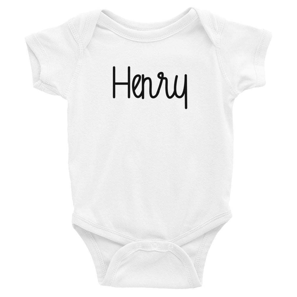 Henry Infant Baby Onesie Bodysuit