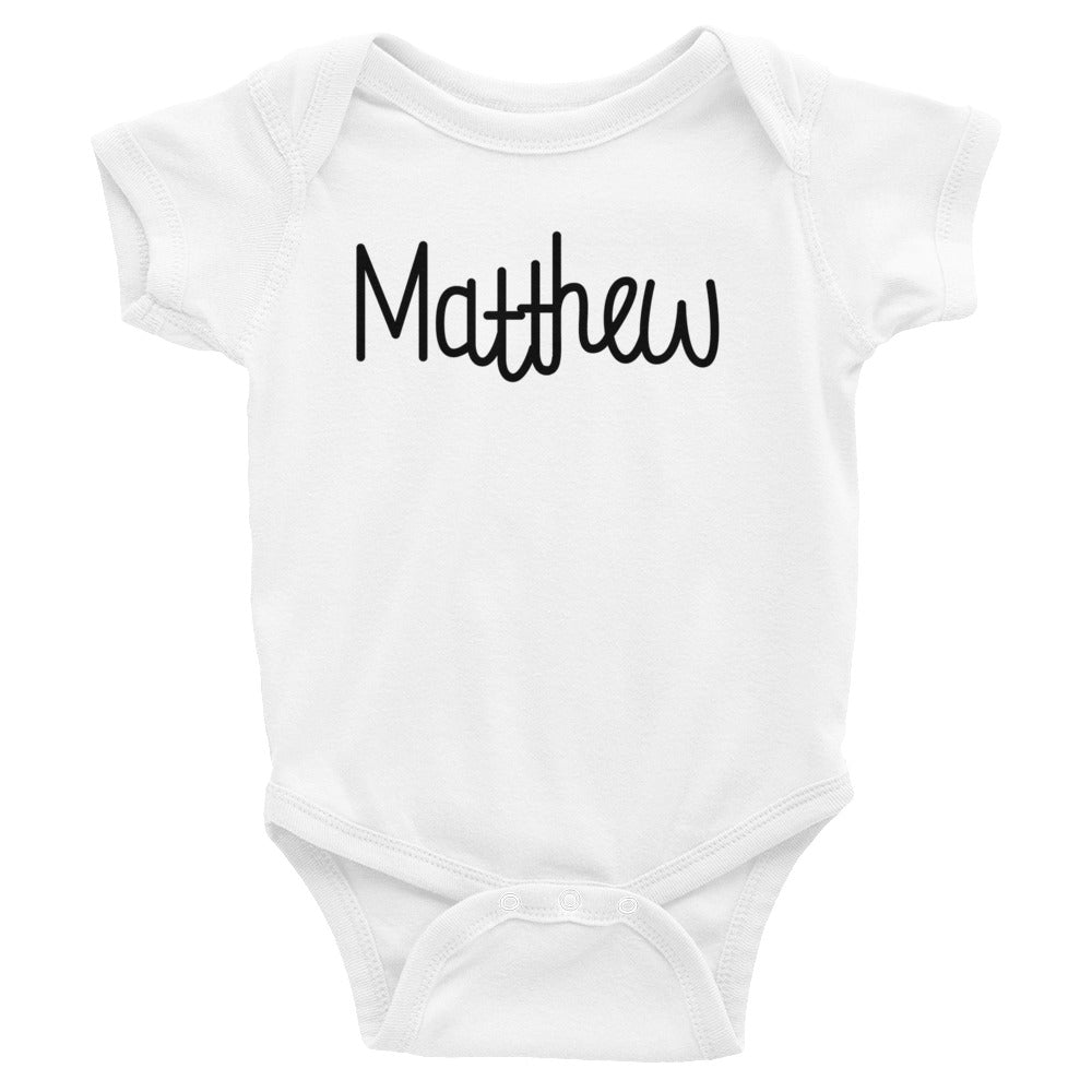 Matthew Infant Baby Onesie Bodysuit