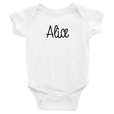 Alice Infant Baby Onesie Bodysuit