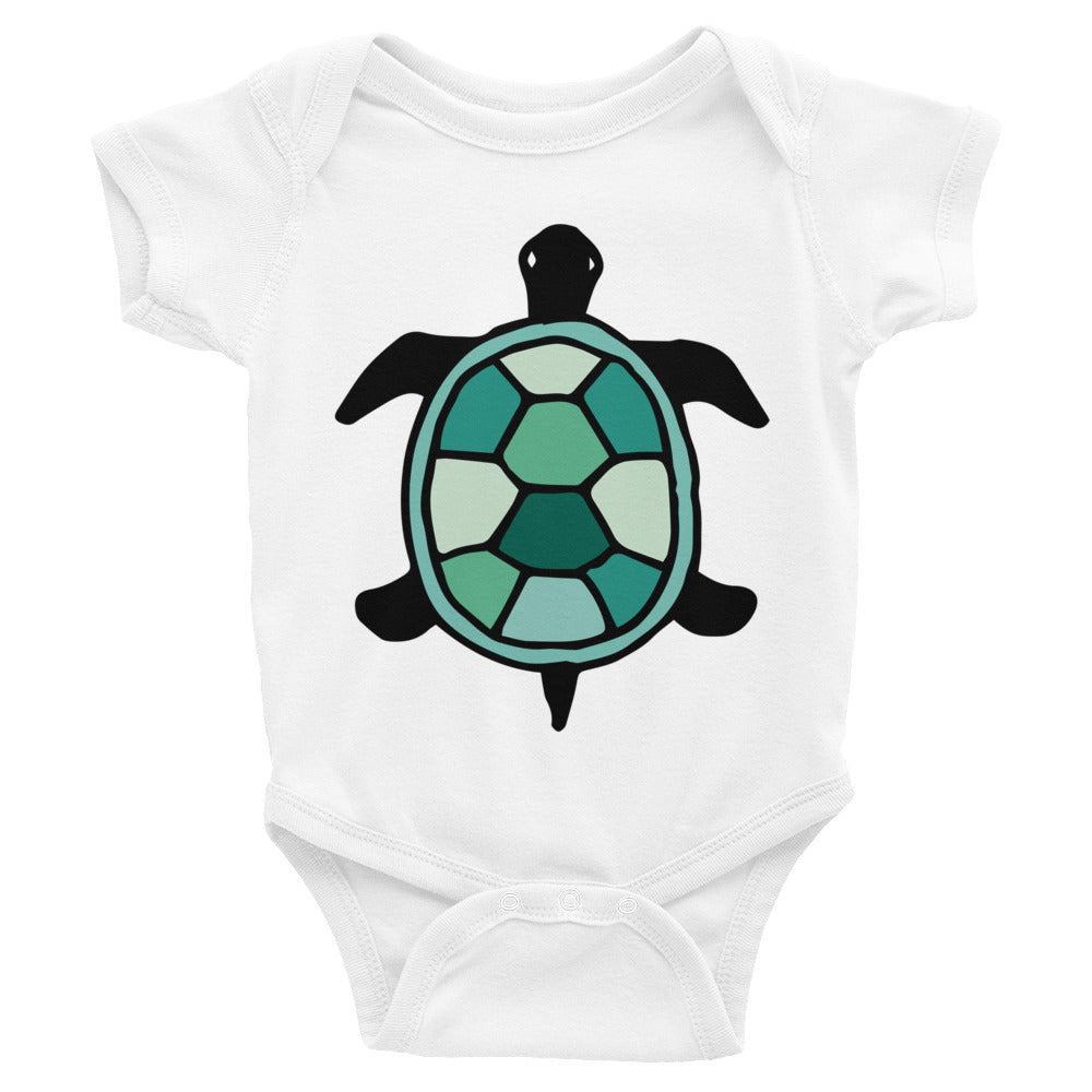 Turtle Infant Onesie Bodysuit