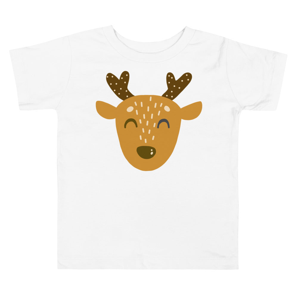 Napping Deer Toddler Short Sleeve Tee