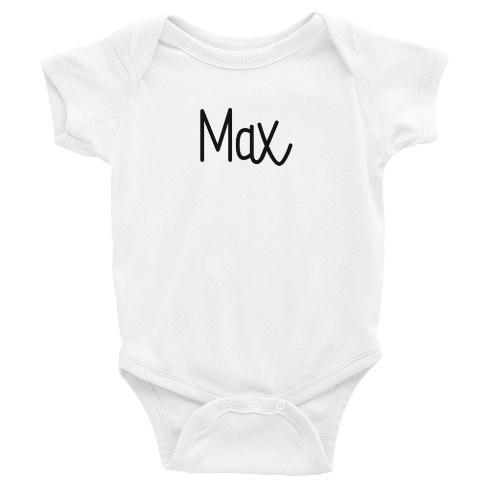 Max Infant Baby Onesie Bodysuit