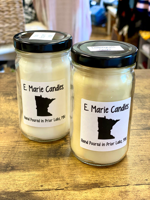 E. Marie Hand Poured Candles