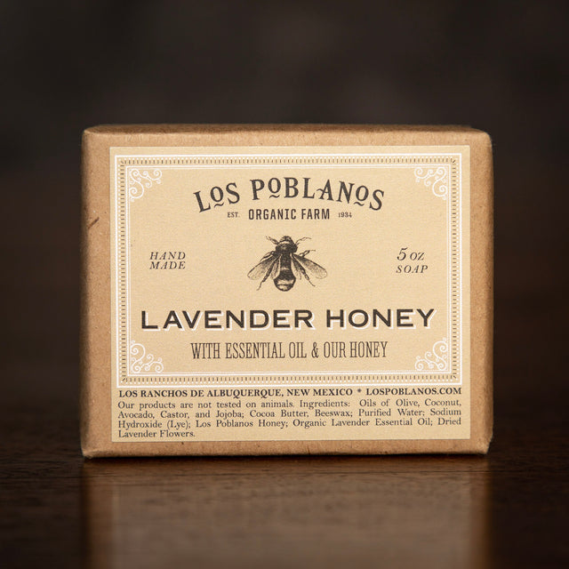 Los Poblanos Bar Soap - Lavender Honey