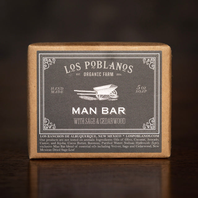Los Poblanos Bar Soap - Man Bar