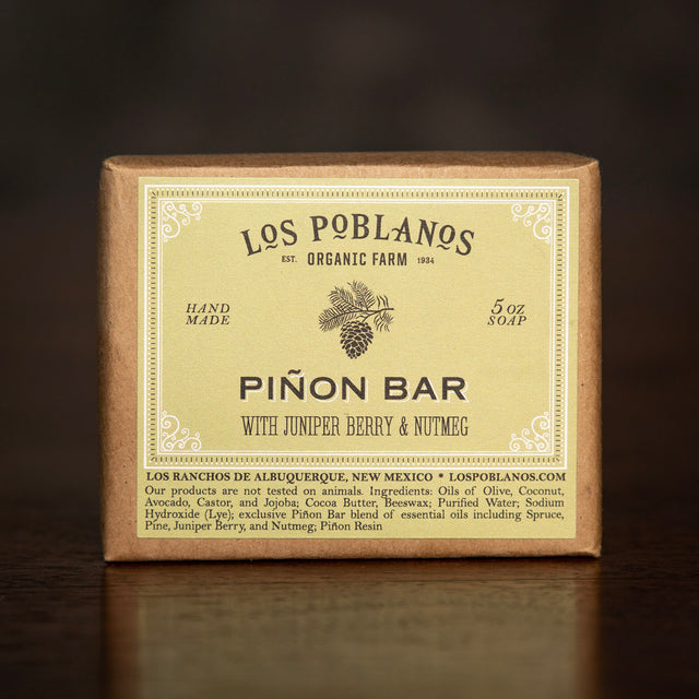 Los Poblanos Bar Soap - Piñon Bar