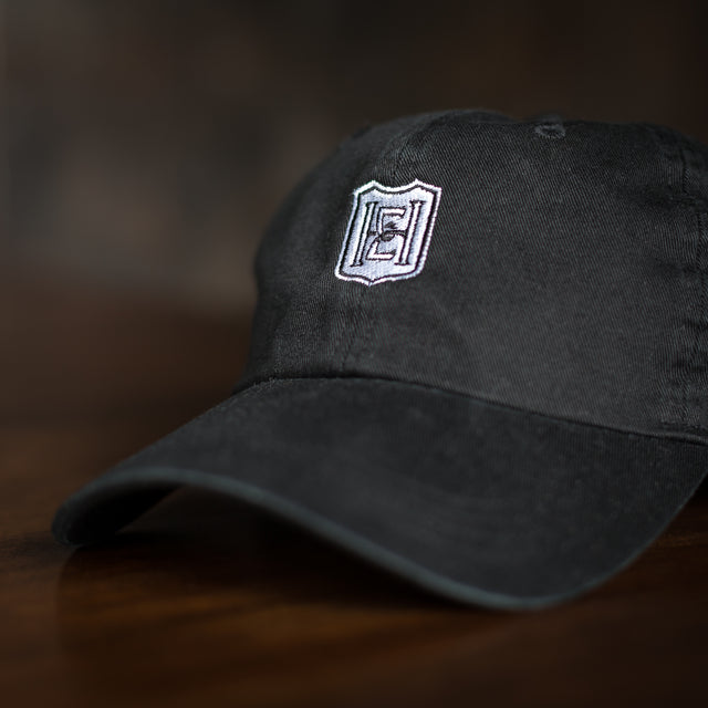 Hat - Black with White Logo