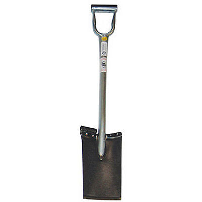 "King of Spades Shovel w/ 13"" Welded Edge & Foot Pad"