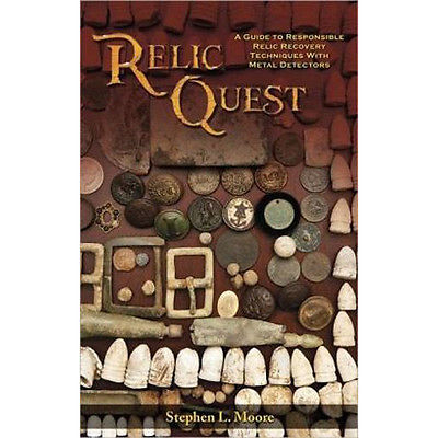 Relic Quest by Stephen L. Moore Reference Book for the Relic Hunter