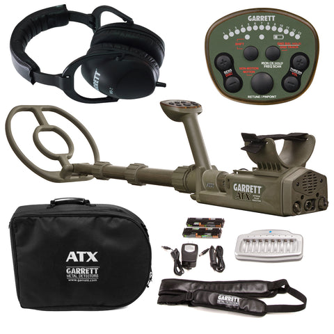 Garrett ATX Extreme Pulse Induction Metal Detector with 10″ x 12″ DD Search Coil
