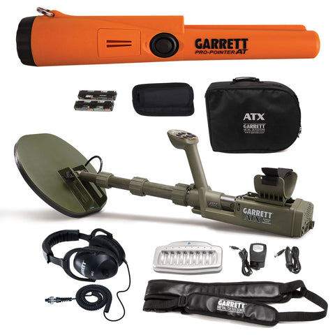 Garrett ATX Extreme Pulse Induction with Pro Pointer AT
