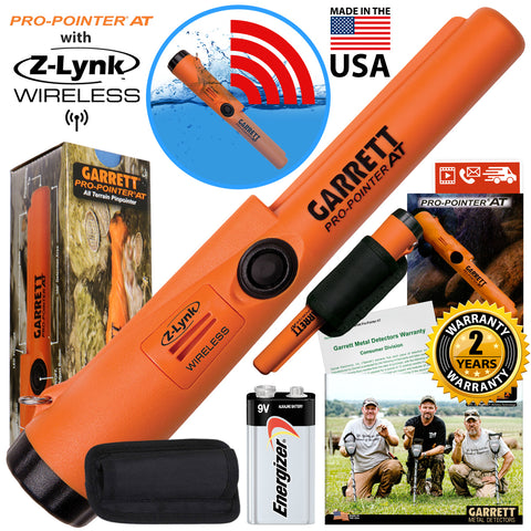 Garrett Pro-Pointer AT Z-LYNK Waterproof Pinpointer