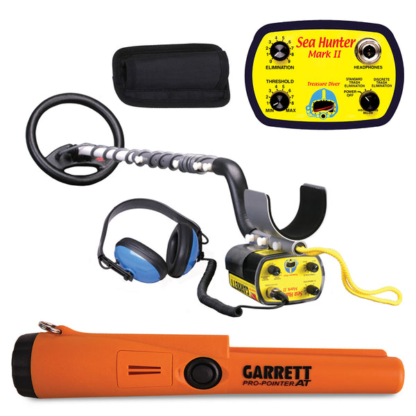 Garrett Sea Hunter Mark II Underwater Metal Detector with AT Pro-Pointer