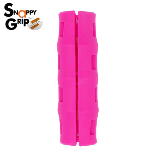 Snappy Grip Pink Ergonomic Handle for Buckets