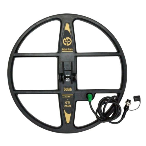 "Mars Goliath 15"" DD Waterproof Search Coil for Garrett GTI Series Metal Detector"