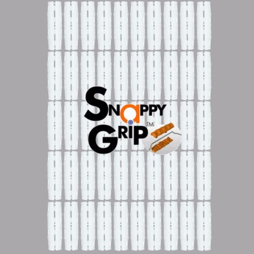 Snappy Grip White Ergonomic Bucket Handles Bulk Lot of 50 Handles