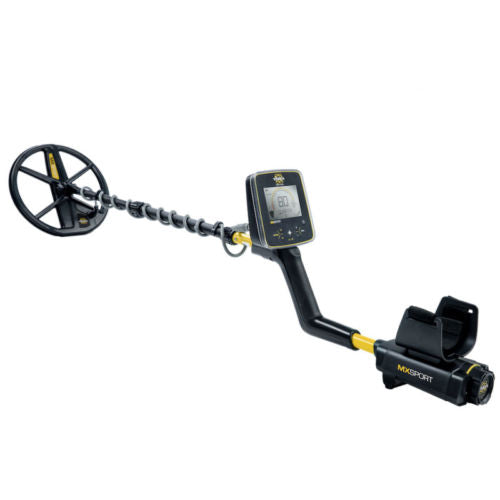 Whites MX Sport Waterproof Metal Detector with 10