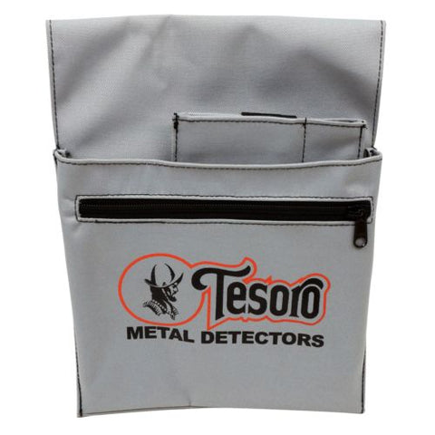 Tesoro Metal Detector Treasure Pouch Nylon Cordura Grey