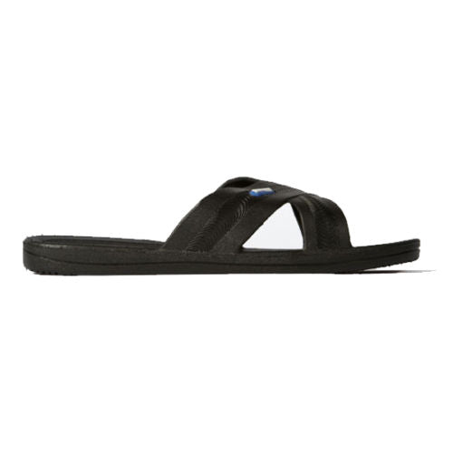 Bokos Durable Black Anti Slip Womens Sandals Easy to Clean and Odor Resistant