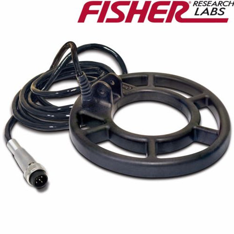 "Fisher 8"" Waterproof Spider Concentric Round Search Coil for CZ-3D"