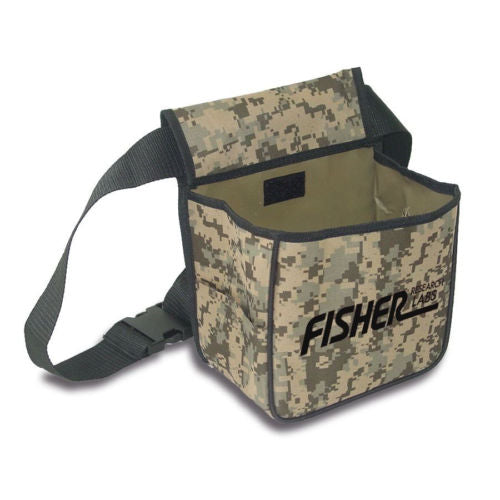 Fisher F19 LTD Camo Bundle with Back Pack Coil Cover Rain Cover Cap and Pouch