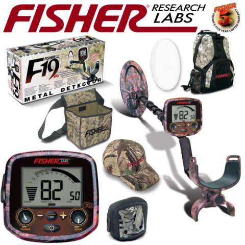 Fisher F19 LTD Pink Camo Bundle w/ Backpack & Accessories