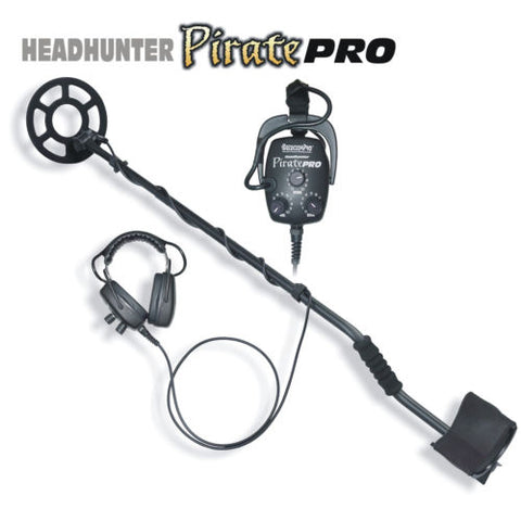 DetectorPro Headhunter PiratePro Metal Detector with Headphones