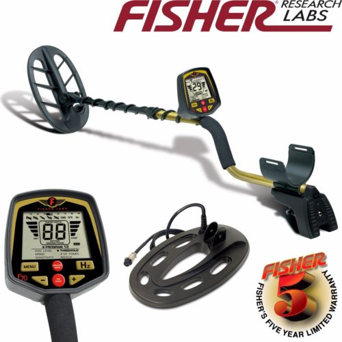 Fisher F70 Metal Detector with 2 Search Coil Pack and 5 Year Warranty