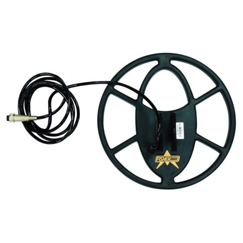 "Fisher 10.5"" X-Series Waterproof Spider Search Coil w/ 7' Cable"