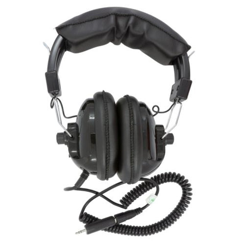 Fisher Lightweight Adjustable Stereo Headphones for Metal Detector