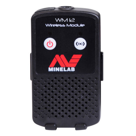 Minelab WM12 Wireless Headphone Module for GPZ 7000 Metal Detector