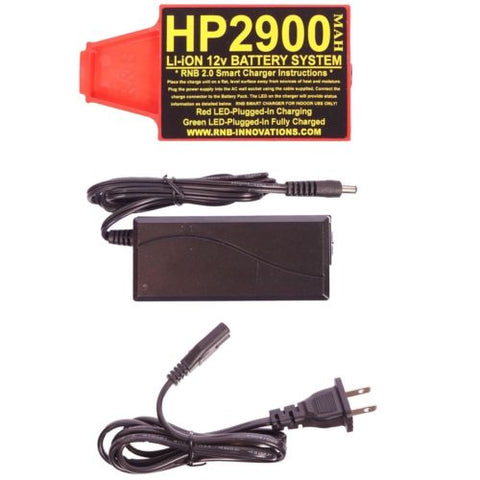 RnB Innovations HP-2900 Lithium-ion 12v Battery for Whites Metal Detectors