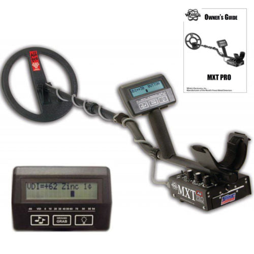 Whites MXT All Pro Metal Detector with 10