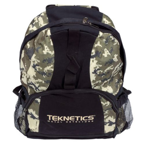 Teknetics Digital Camouflage Backpack Metal Detecting Daypack