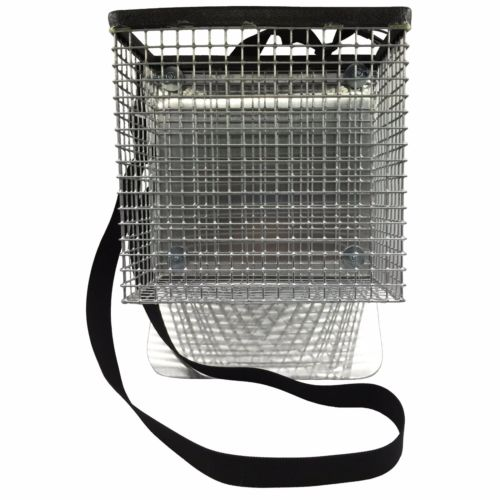 "RTG 1/2"" Screen Square Side Beach Basket / Belt Sifter"
