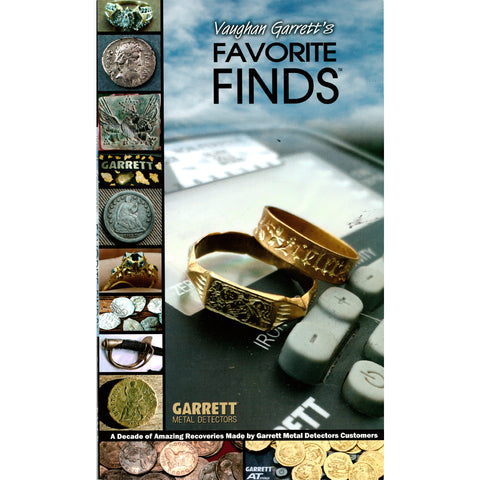 Vaughan Garrett's Favorite Finds Metal Detecting Book 1556100
