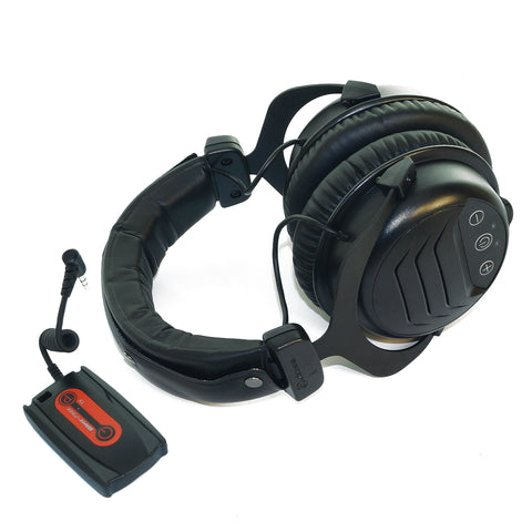 "Quest W3 Pro Headphones with 1/8"" Plug for Metal Detectors"