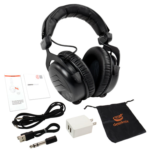 Quest H6 Wireless Over the Ear Wire-free & Rechargable Headphones
