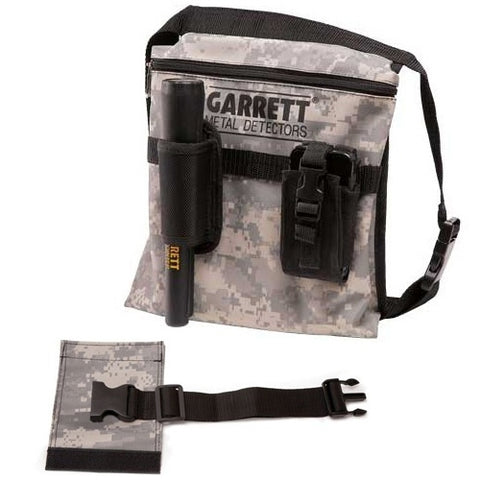 Garrett Camo Bag/Pouch with Belt Extender