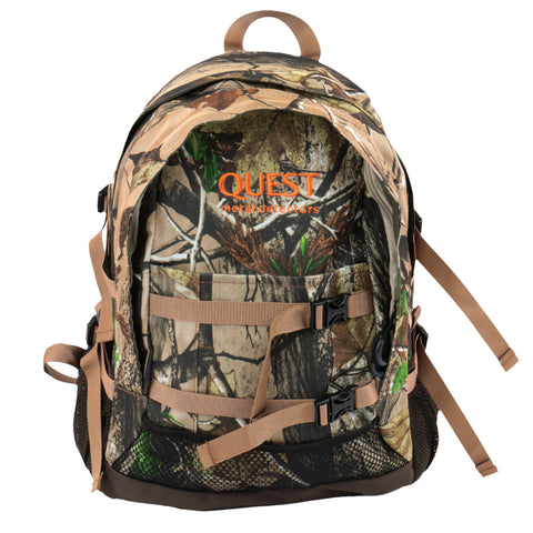 Quest Metal Detectors All Purpose Camo Backpack