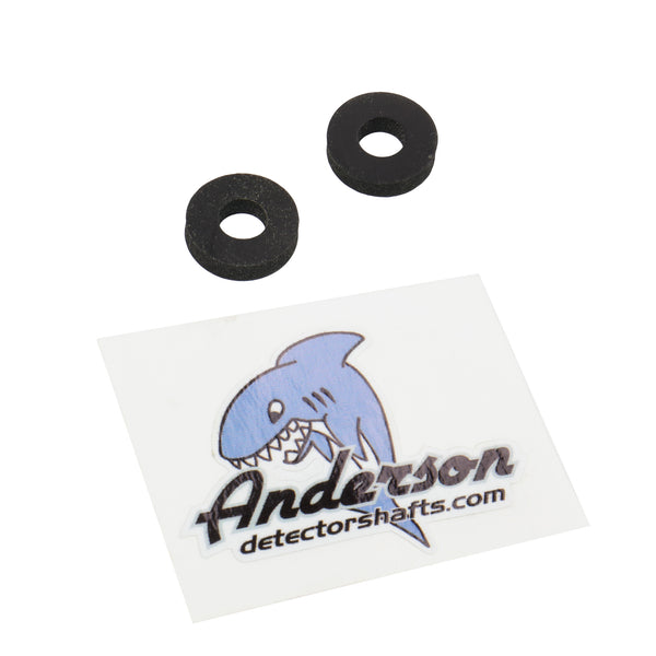 "Anderson Detector Shafts 3/8"" Lower Rod Washer Pair"